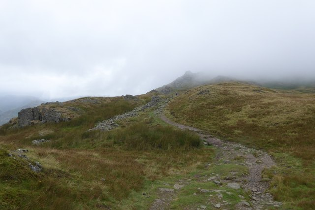 Path towards Lord's Crag
