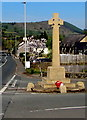 SO1422 : Grade II Listed Bwlch War Memorial, Powys by Jaggery