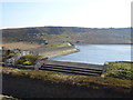 SD9332 : Eastern dam, Widdop Reservoir by JThomas