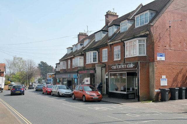 Littleham Cross shops, Exmouth