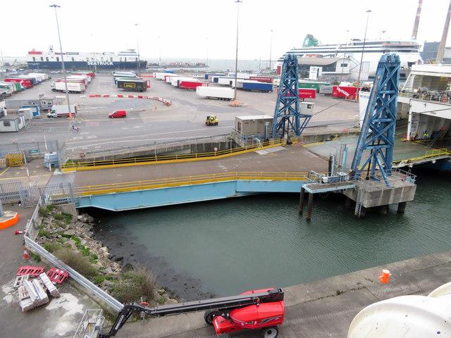 Link-span at Dublin Port