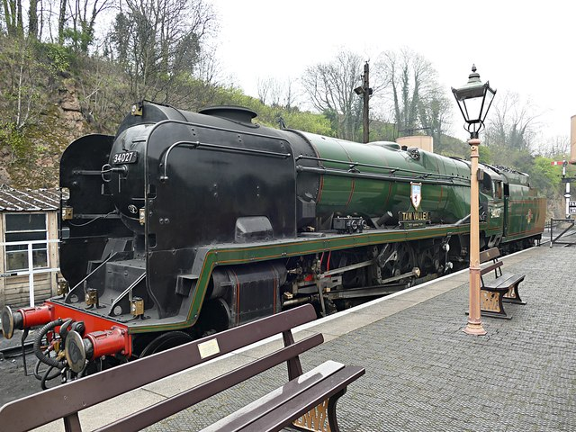 Southern Railway 34027 Taw Valley