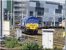 SU5290 : Class 66 locomotive at Didcot by Gareth James
