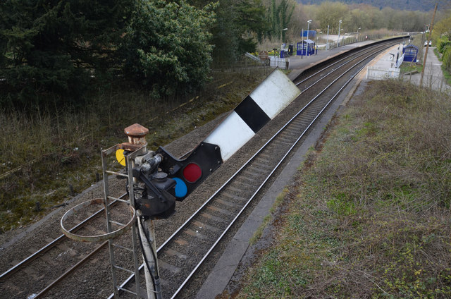 British Rail Semaphore Signal at Grindleford, Derbyshire