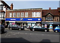SU1868 : Boots and Greggs, High Street,  Marlborough by Jaggery