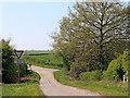 SO7998 : Chesterton Road crossroads near Chesterton, Shropshire by Roger  Kidd