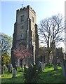 TQ5354 : St Nicholas Church in Sevenoaks, Kent by John P Reeves
