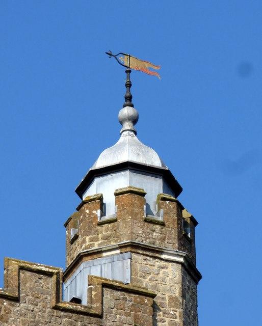 St Nicholas Church Weather Vane in Sevenoaks
