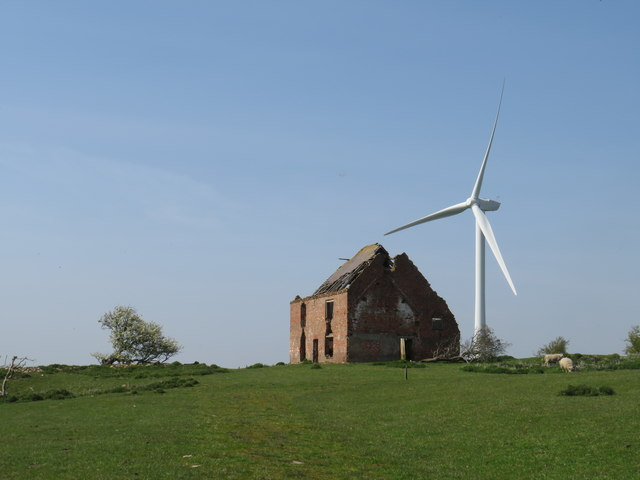 Old and new, near Sedgefield