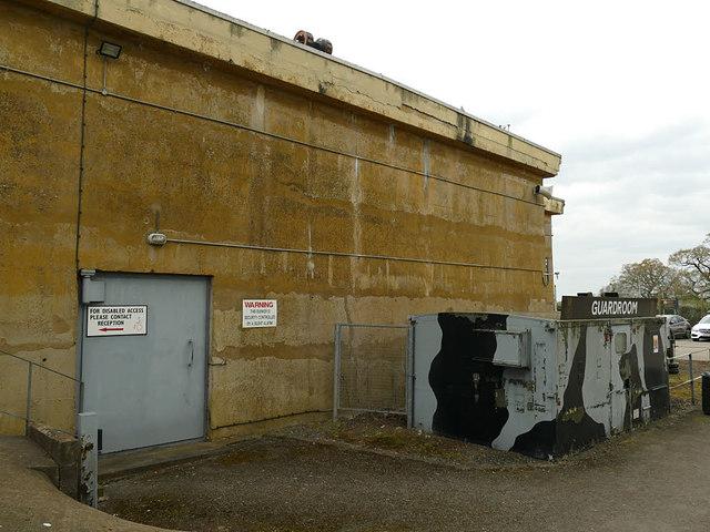 Hack Green bunker - guardroom