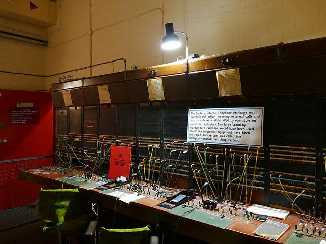 Hack Green bunker - telephone exchange