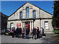 SE2434 : Walk of Witness, Bramley Baptist church by Stephen Craven