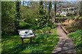 TQ0814 : Former mill pond, Storrington by David Martin