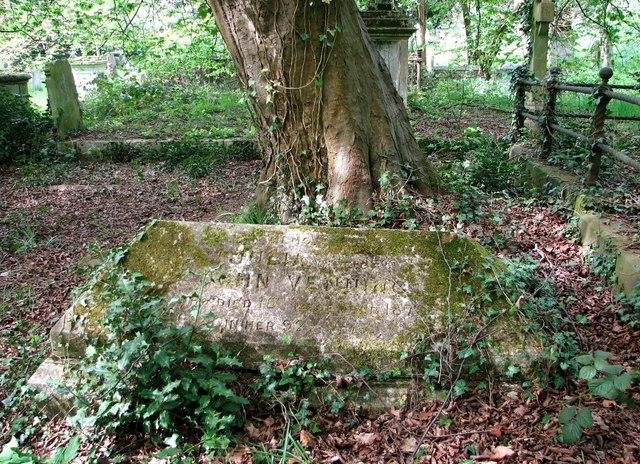 The grave of John Venning