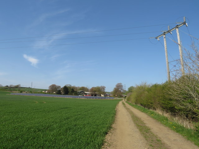 Track near Fishburn