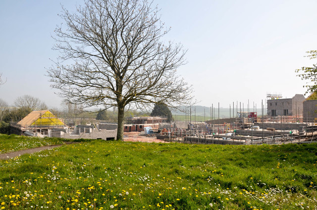 New homes at Plumb Park Exmouth