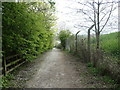SE4028 : Public bridleway on the Lowther loop, RSPB St Aidan's by Christine Johnstone