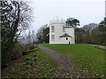 SO5212 : The Round House, the Kymin by Chris Gunns