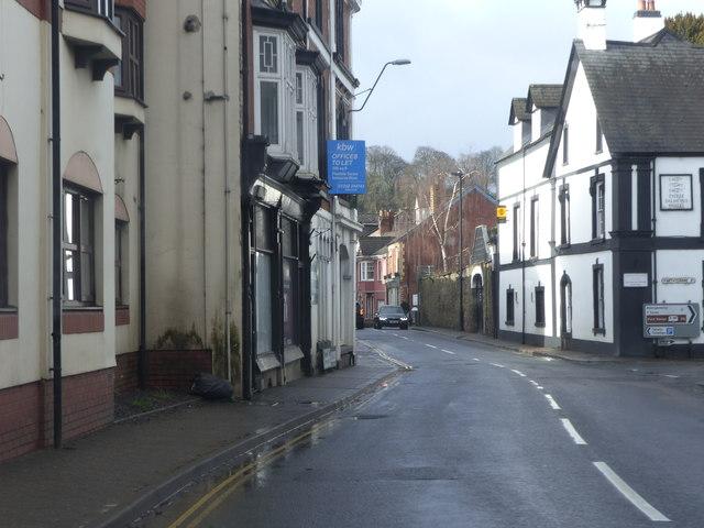 Road junction, Usk