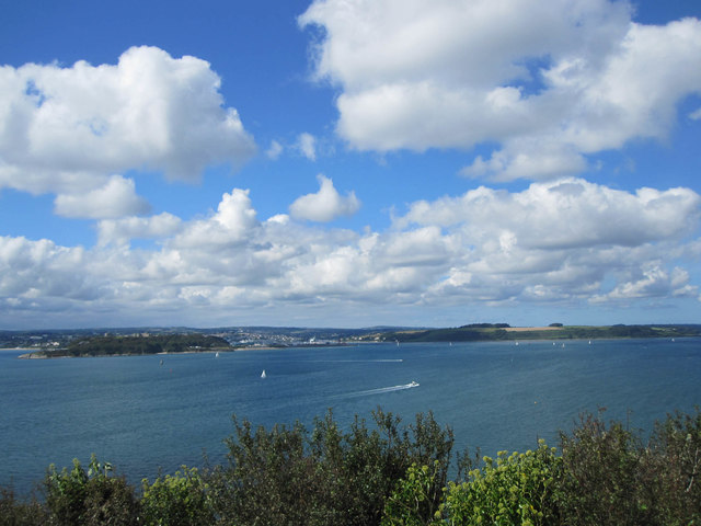 Falmouth from St Anthony's Head