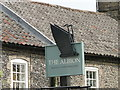TL8783 : Sign for The Albion public house by Adrian S Pye