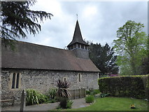 TQ1863 : St Mary, Chessington: April 2019 by Basher Eyre