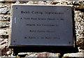 SO1422 : Bwlch Cutting Improvement 1994 plaque, Bwlch, Powys by Jaggery