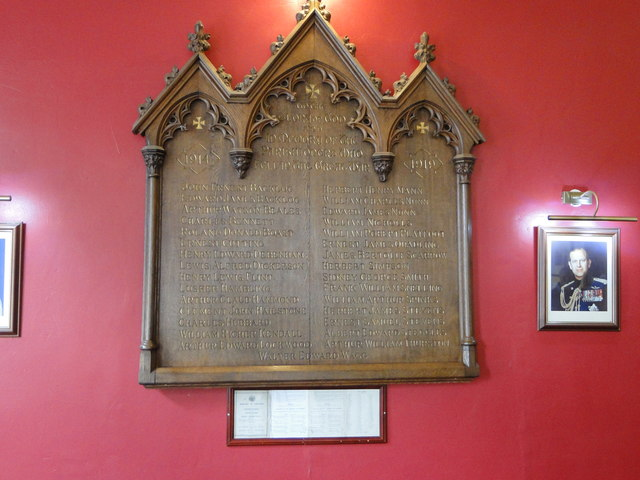 The War Memorial of St. Mary the Less in Thetford