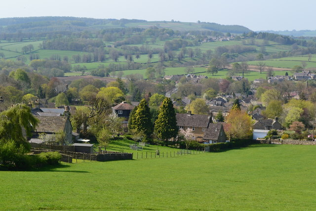 View down Black Bank