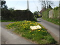 ST5952 : A yellow triangle by Neil Owen