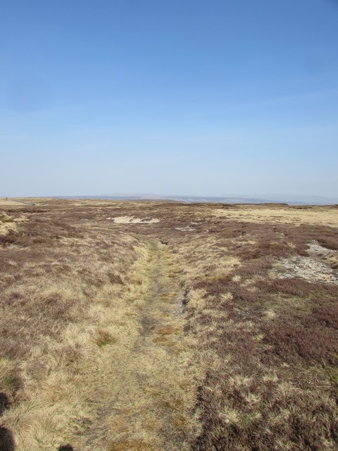 An Old Coal Road on Fountains Fell