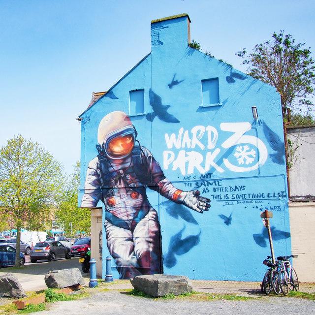 Mural, Bangor