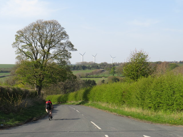 Road in the countryside near Trimdon
