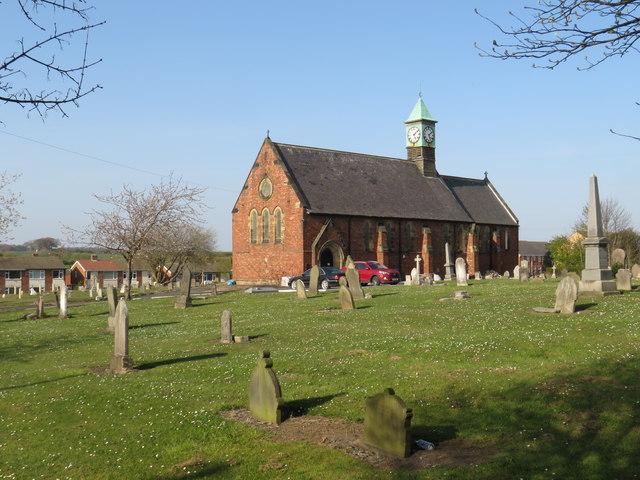Former church, Trimdon Colliery