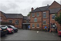 SP2865 : Creative Arts buildings, Warwick High School for Girls, Chapel Row, Warwick by Robin Stott