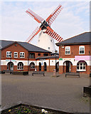 SD3342 : Marsh Mill Shopping Village, Thornton Cleveleys by David Dixon