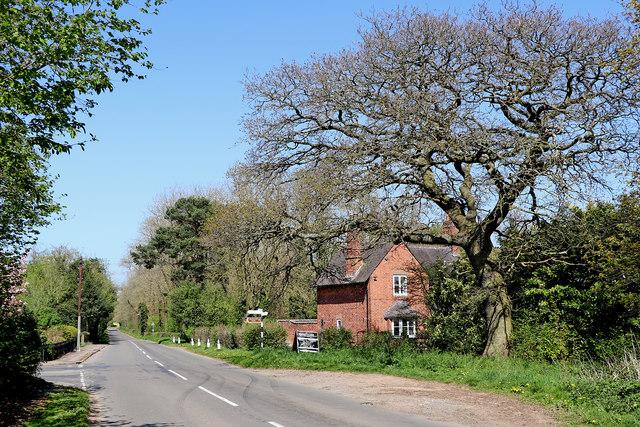 Burnhill Green in Staffordshire