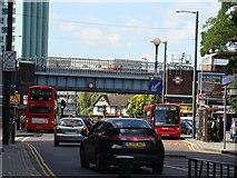 TQ1883 : Alperton Station Bridge by Ibn Musa