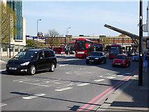 TQ3078 : A202 Bridgefoot, Vauxhall by Robin Webster