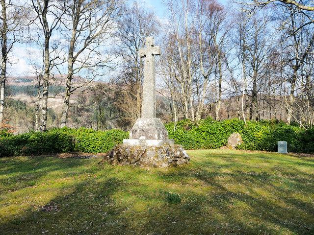 Graveyard above eastern end of Loch Arkaig
