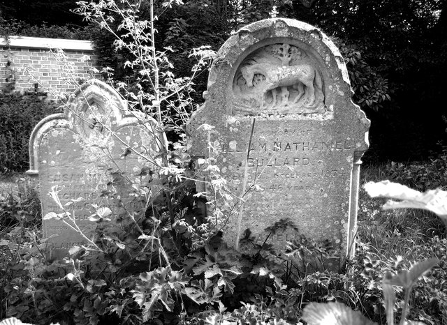 The grave of William Nathaniel Bullard