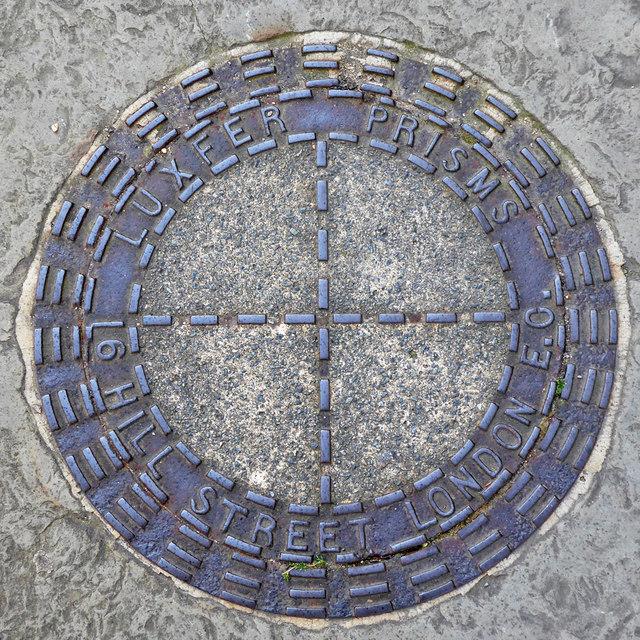Coal plate, Gloucester Street, SW1