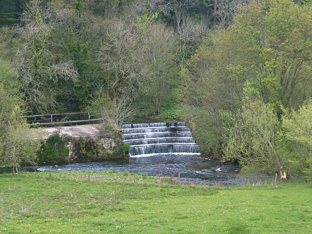 Weir on the River Wye