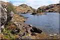 NM6771 : Lochan below Beinn Gheur (2) by Jim Barton