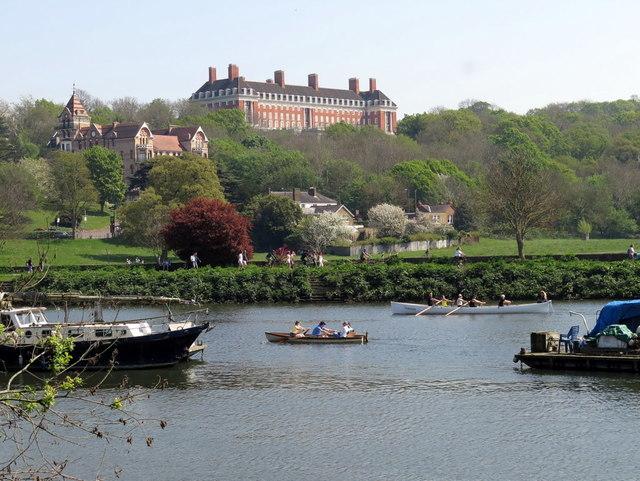 River Thames near Glover's Island