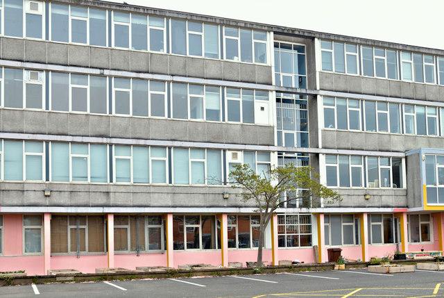 Former Rupert Stanley College, Tower Street, Belfast - April 2019(1)
