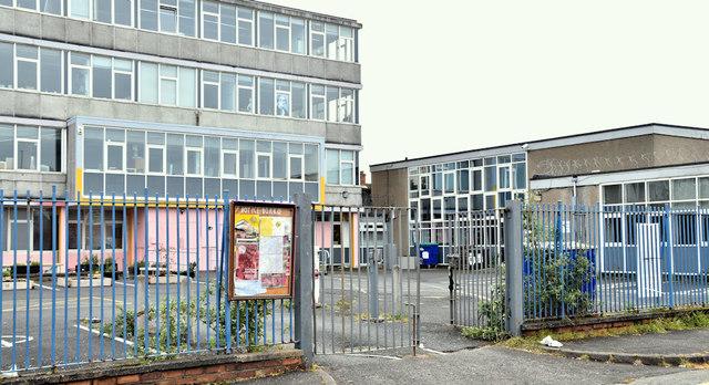Former Rupert Stanley College, Tower Street, Belfast - April 2019(3)