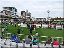 SK5838 : Trent Bridge: between innings on Family Fun Day by John Sutton