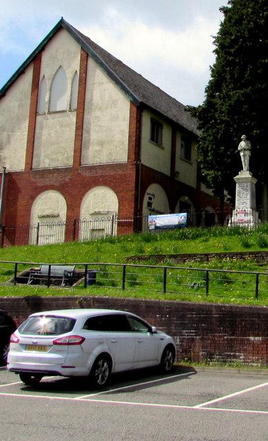 Grade II Listed Bargoed & Gilfach War Memorial