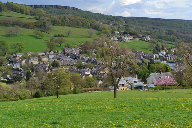 Hathersage from Coggers Lane